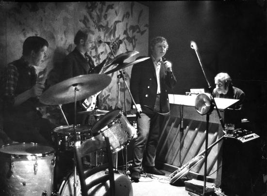 GMB spelar på Profeten i Uppsala 1968.