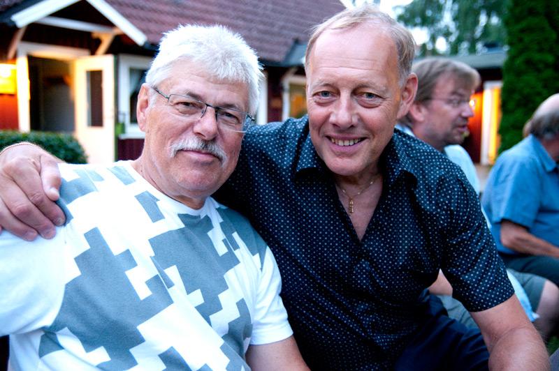 Hans Borg och Gösta Rodling - buddies in music som ses en gång om året.